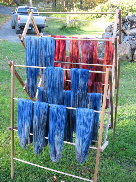 Vermont Hand-dyed yarn