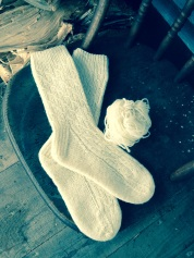 Made with Sheep and Pickle Farm Wool
