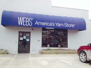 Exterior of WEBS yarn store